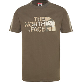 The North Face Easy Kurzarm T-Shirt Kinder new taupe green desert youth printt